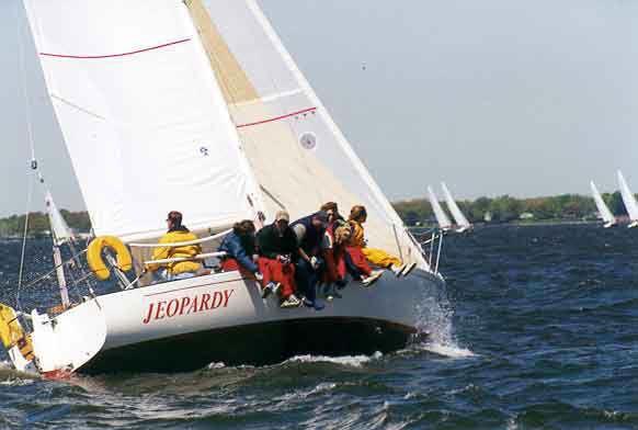 sailing stbd quarter
